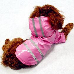 Плащ для собак со светоотражающими полосами
