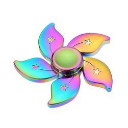 Rainbov fidget spinner sa zvezdicama