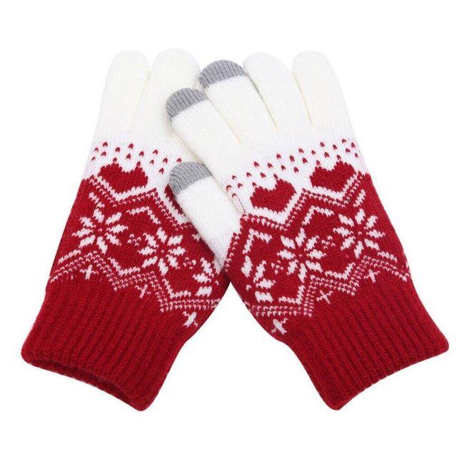 Unisex zimowe rękawice B06643 1