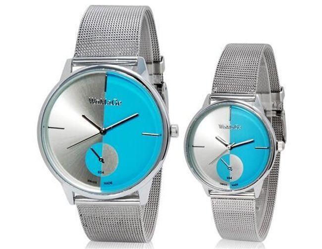 Stylové párové hodinky pro ni a pro něj 1