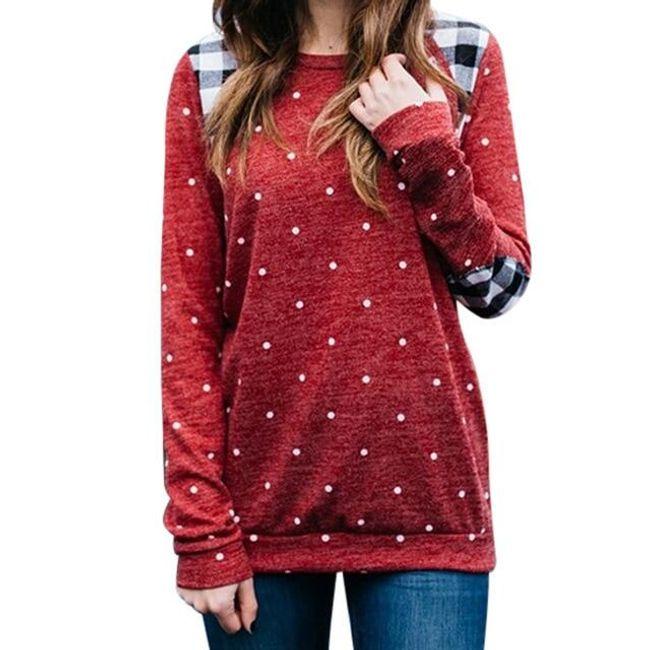 Dámské tričko s dlouhým rukávem Jena 1