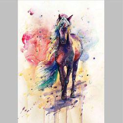 Obraz s duhovým koňem