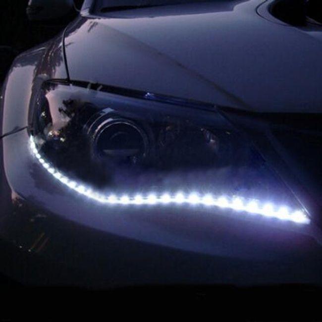 LED fényszalag autóhoz - 2 db 1