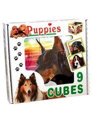 Skladací obrázkové kocky Puppies RW_14423