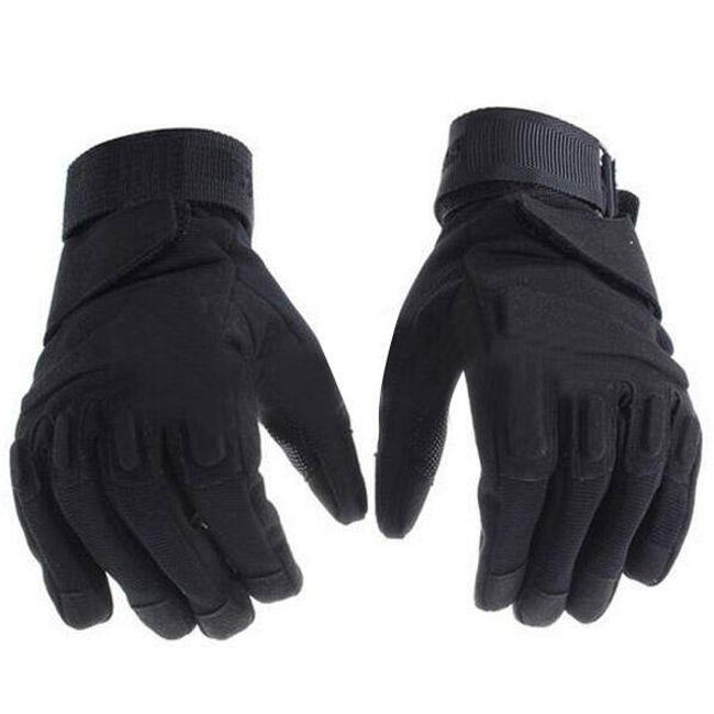 Moto rukavice černé - 3 velikosti 1
