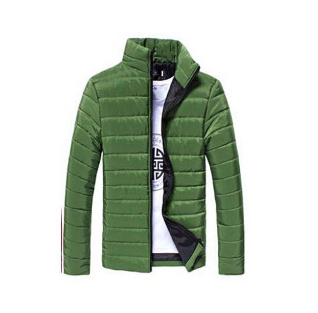Pánská prošívaná bunda Gregor - Zelená - velikost č. L/XL 1