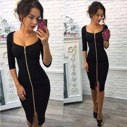 Женское платье на молнии - 3 варианта