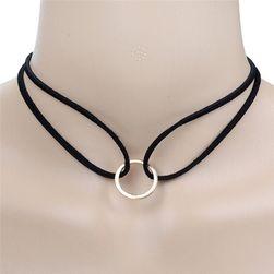 Łańcuch i bransoletka z kręgiem