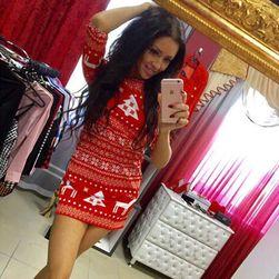 Dámské vánoční šaty Johanne