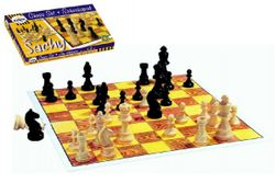 Sakk fa társasjáték dobozban 37x22x4cm RM_33000011