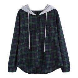 Dámská košile s kapucí - 5 velikostí