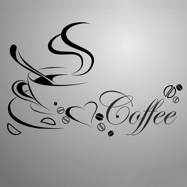 Zidna nalepnica za kafeničare 1