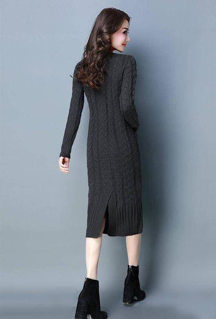 Női kötött ruha Waneska