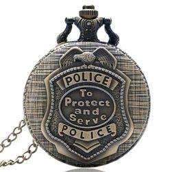 Vintage džepni sat za policajce