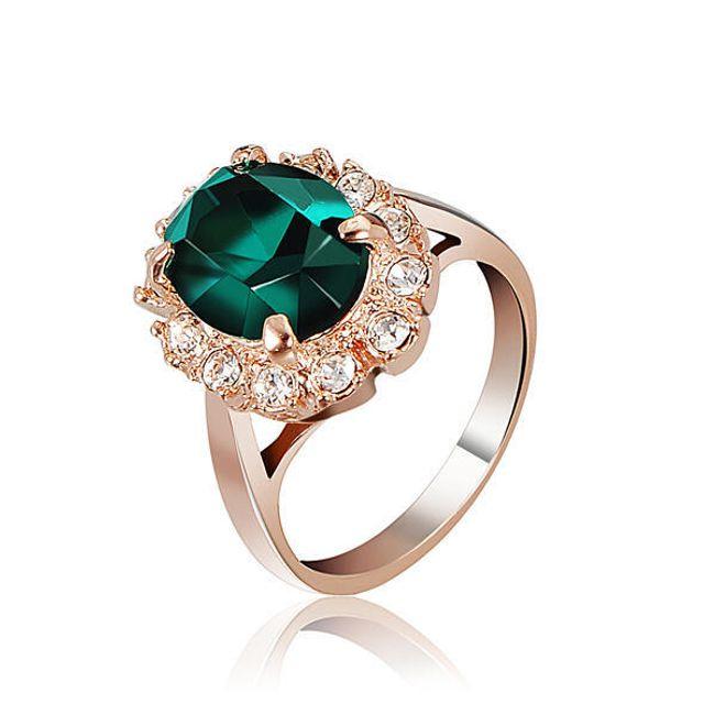 Elegancki pierścień z wielkim kamieniem - oferujemy trzy kolory 1