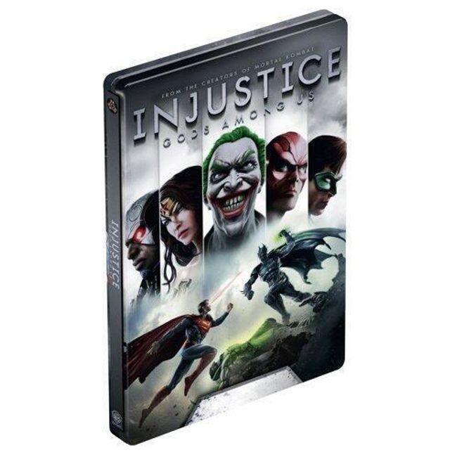 Gra (Xbox 360) Injustice: Gods Among Us + Steelbook 1