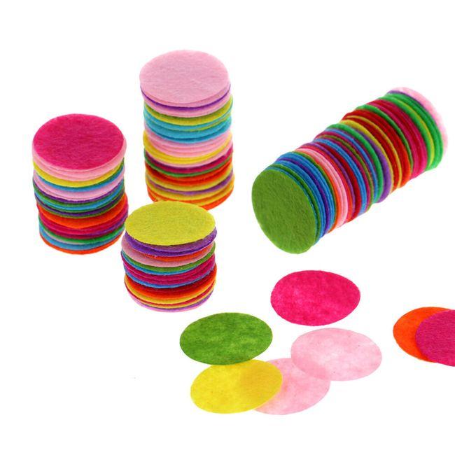 Kružići od filca u boji - 200 kom 1
