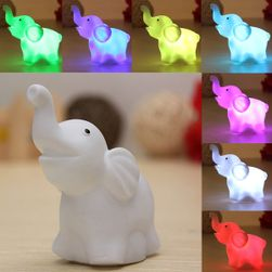 LED lámpa elefánt alakban