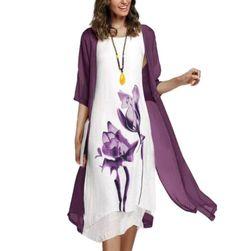 Дамска рокля с жилетка RR4