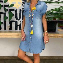 Dámske košeľové šaty Daria