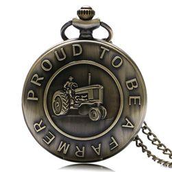 Винтидж джобен часовник за фермери и земеделци