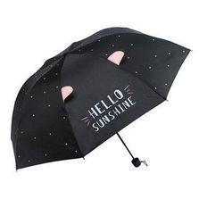 Składany parasol z motywem kota i uszu - 4 warianty