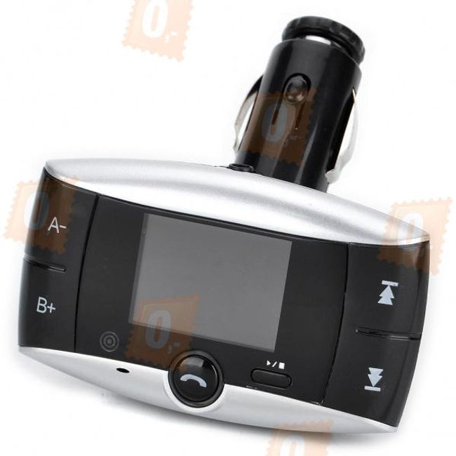 Az 1,4 hüvelykes MP3-adó USB / SD 3,5 mm-es csatlakozóval nem rendelkezik 1