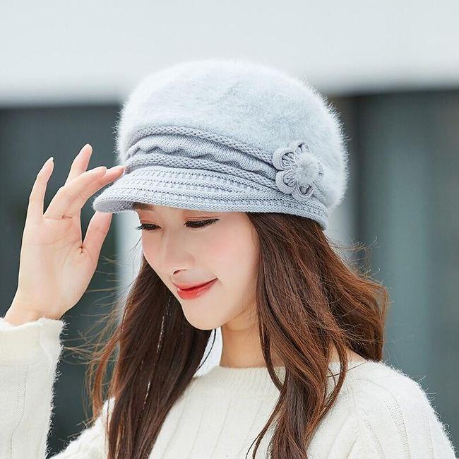 Damska zimowa czapka WC245 1
