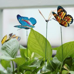 Kerti díszítés pillangó formájában - 15 db