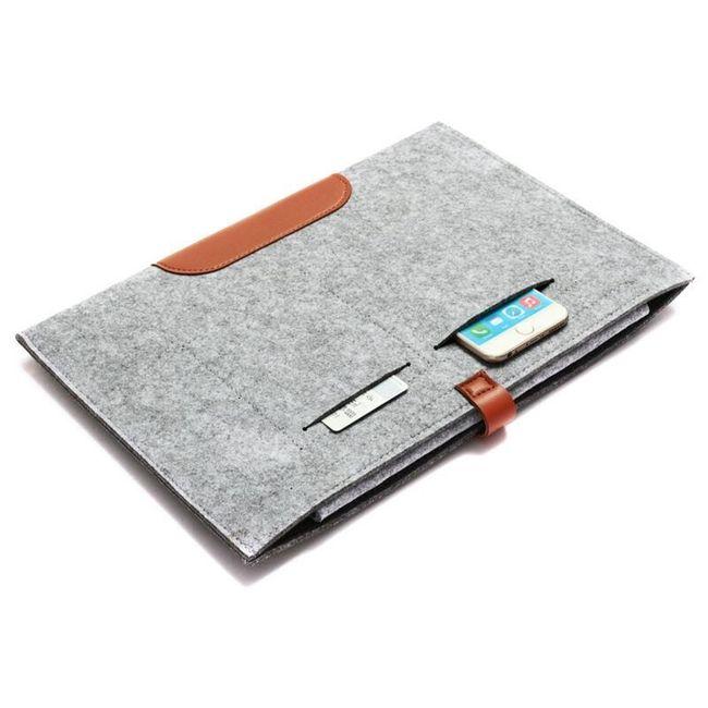 Decentní pouzdro v šedé barvě pro iPad Pro 12,9 palců 1