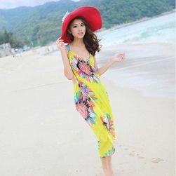 Tunika plażowa w kwiaty - 4 kolory