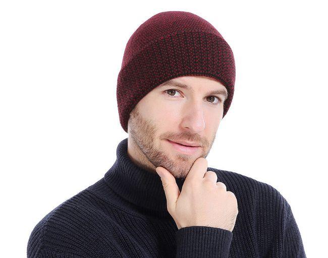 Férfi téli kalap - 4 színben