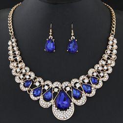 Zestaw biżuterii - naszyjnik i kolczyki