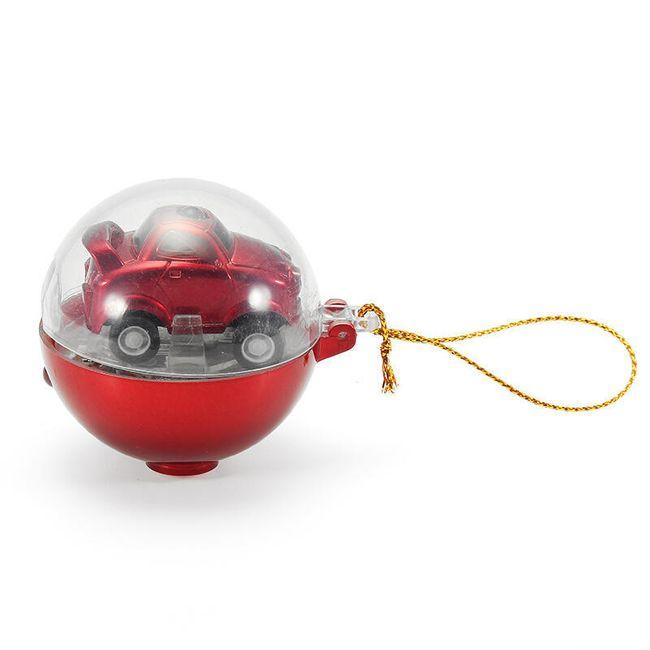 Autíčko na ovládání v praktickém vánočním balení 1