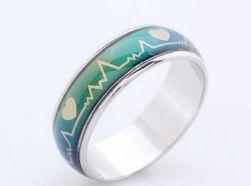 Кольцо, меняющее цвета - разные размеры