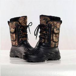 Pánske zimné topánky s kapsičkou 3-8.5