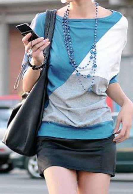 Dámské tričko Zanzea® s netopýřími rukávy - 2 barvy 1