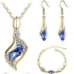 Elegantná sada šperkov - 16 variantov