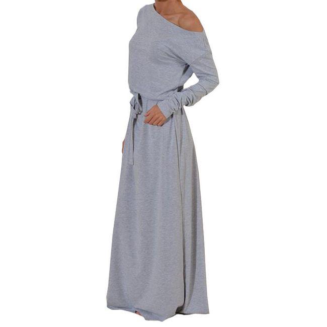 Sukienka dresowa Maxi - 3 kolory 1