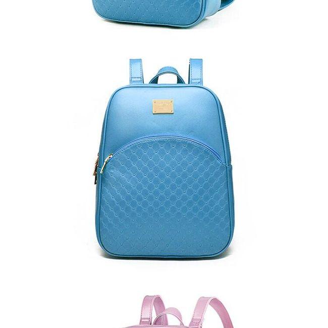 Női műbőr hátizsák - 7 szín