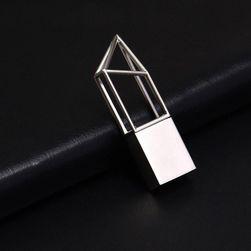 USB flash disk UFD100 32gb - stříbrná