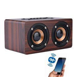 Drewniany głośnik bluetooth