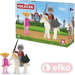 Efko IGRÁČEK TRIO Princezná, rytier a biely kôň PD_1155062