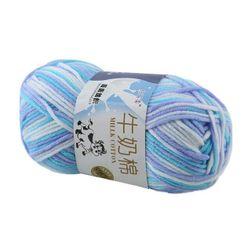 Kłębek wełny do szydełkowania i robienia na drutach w 14 kolorach
