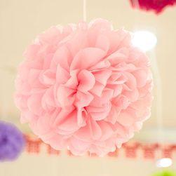 5 бройки декоративни хартиени топки за сватби и праздненства