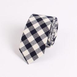 Pánská kravata - kostkovaná - 2 barvy