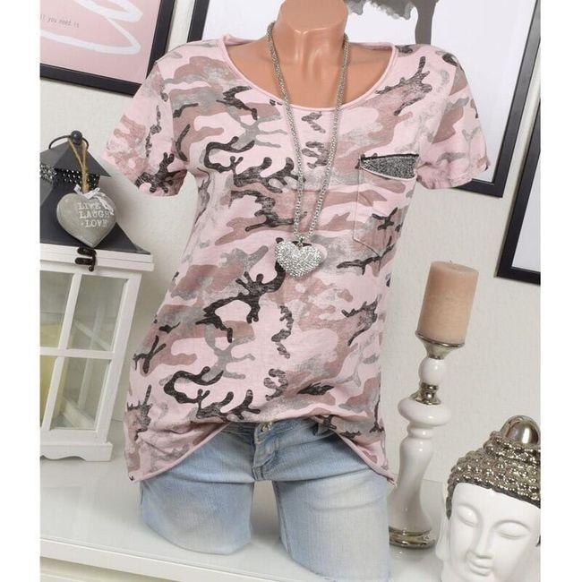 Dámské tričko s krátkým rukávem Monikk 1