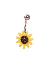 Серьга для пирсинга- Цветок