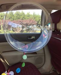 Transparentne balony Anne