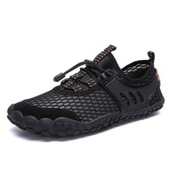Unisex barefoot obuv Gael Černá - velikost 11.5